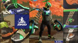 Ninjara fashion bursts from the shadows in new ARMS Fashion Check