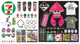Splatoon 2 7-Eleven items on sale, exclusive Gear now available