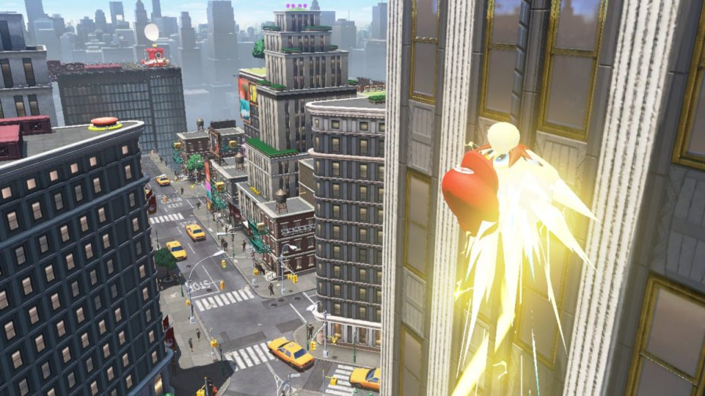 Capture and zip through Super Mario Odyssey buildings in New Donk City