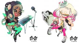 Official Splatoon 2 Pearl and Marina Artwork Released For Splatfest