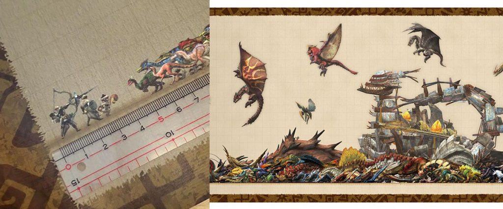 This Monster Hunter Wall Scroll Is Insane and Covers Monster Hunter XX
