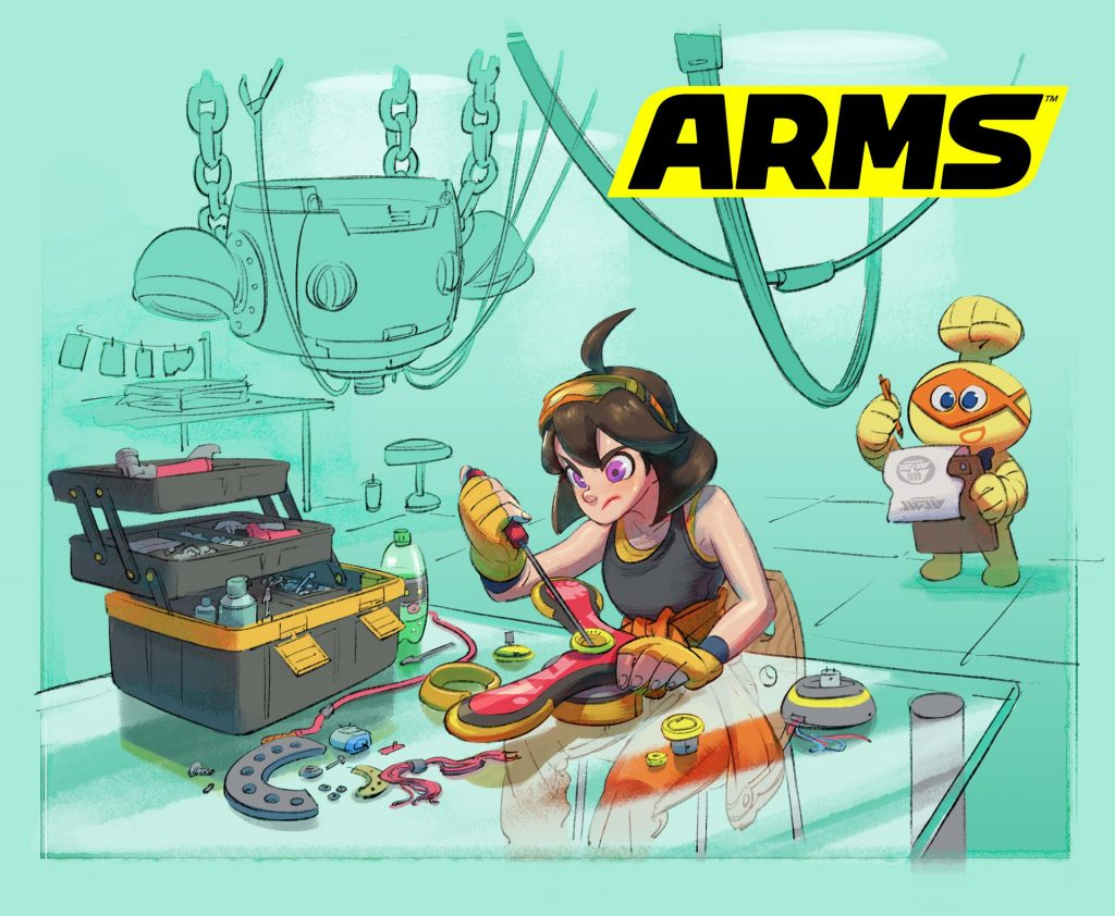 August ARMS Update releases tomorrow, Nintendo throws major shade