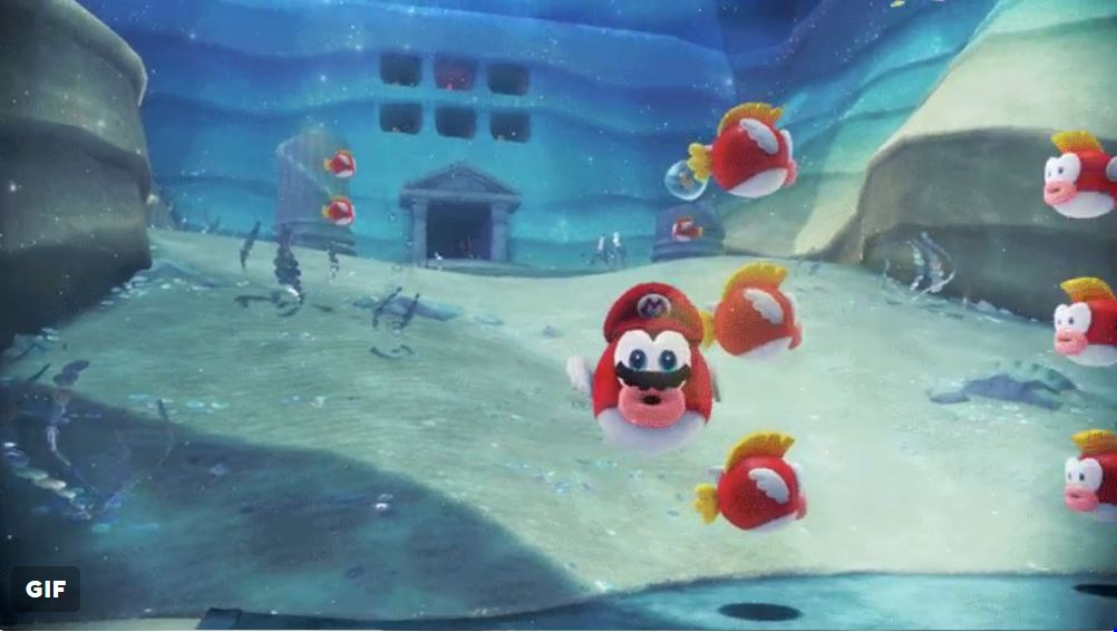 Cheep Cheep and Bouquet Piranha Plants take over Super Mario Odyssey