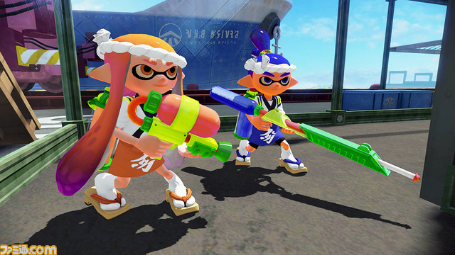The Famitsu Splatoon 2 Gear and Graffiti design contest closes on 8/10