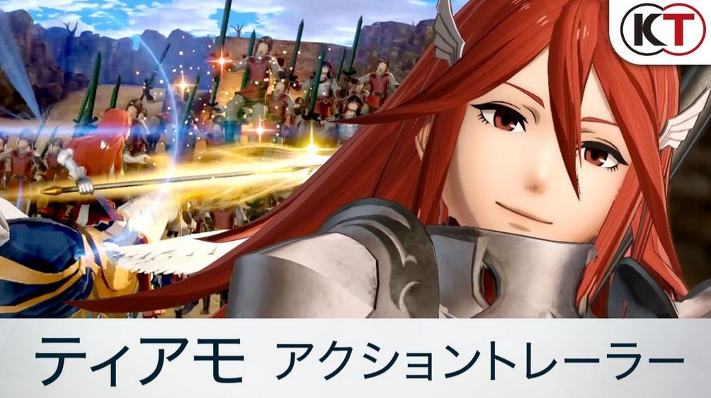 New Fire Emblem Warriors trailer shows off Cordelia in action