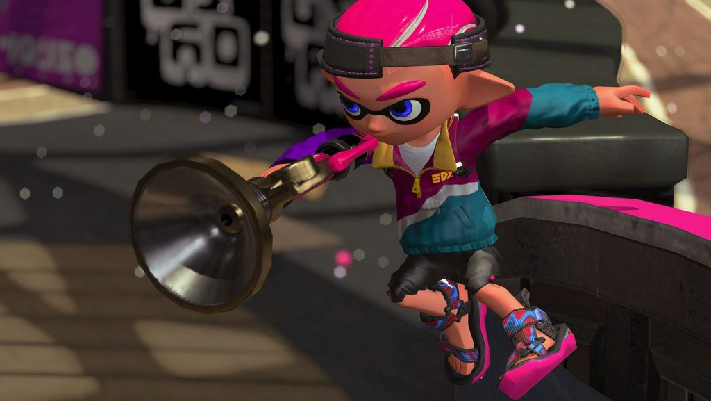Splatoon 2 Sploosh-o-matic blasts into your arsenal tomorrow morning