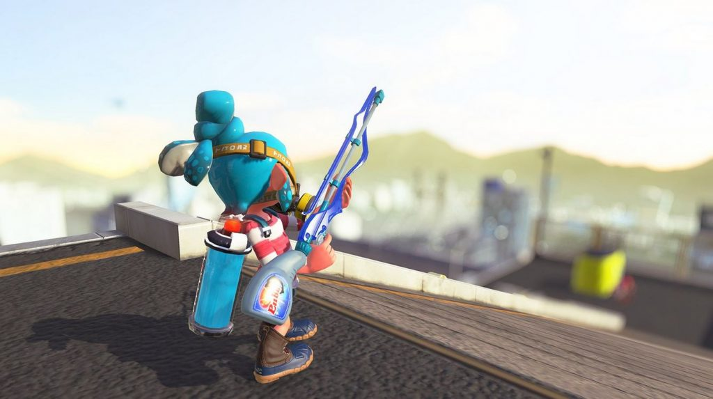 New weapon Squiffer Alpha joins the Splatoon 2 arsenal this weekend